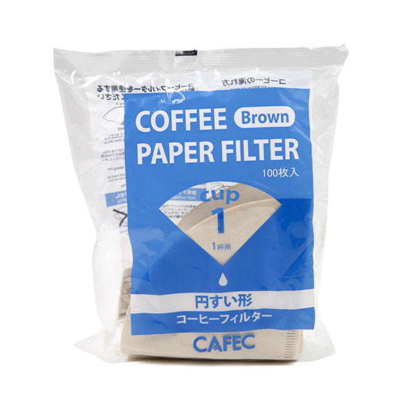 Cafec Brown Filter Papers (100Pcs)