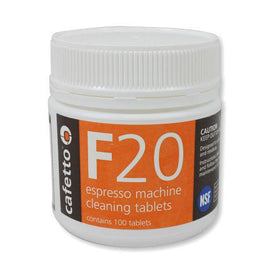 Cafetto F20 Cleaning Tablets, Tablets, Cafetto - Barista Warehouse