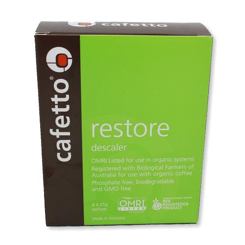 Cafetto Restore Descaler 4pack, Descaler, Cafetto - Barista Warehouse