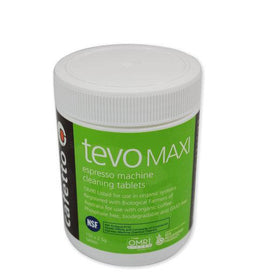 Cafetto Tevo Tablets Maxi 2.5g (150 Tablet Jar), Tablets, Cafetto - Barista Warehouse