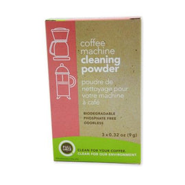 Urnex Coffee Machine Cleaning Powder - 3 packets, 9 grams each