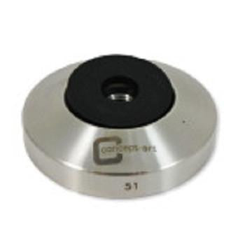 Concept-Art Coffee Tamper Base, 51mm Stainless, Flat, Tamper, Concept-Art - Barista Warehouse