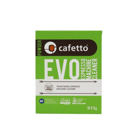 Cafetto EVO Single-Use Sachets (18 X 5g)
