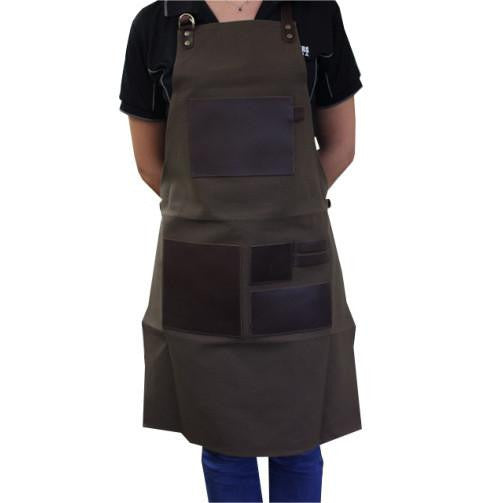 Gastronomy Apron Brown