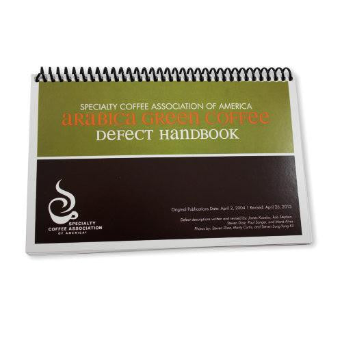SCAA Green Defect Handbook, Educational Resources, SCAA - Barista Warehouse