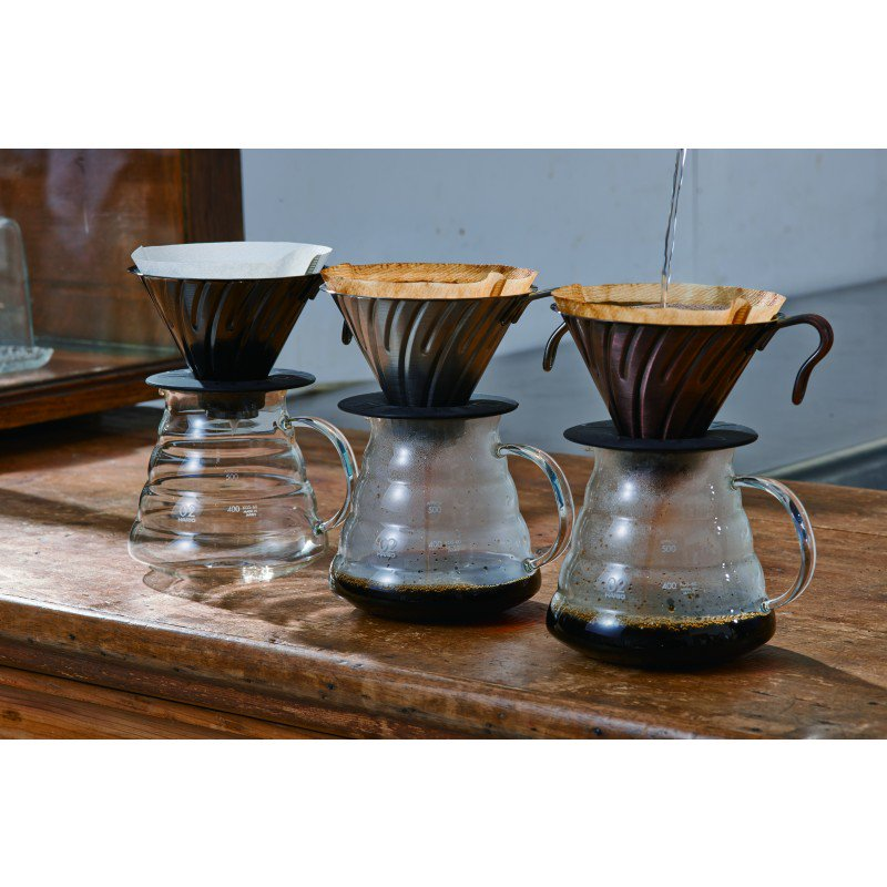 Hario Metal V60 2 Cup Copper, simple, Hario - Barista Warehouse