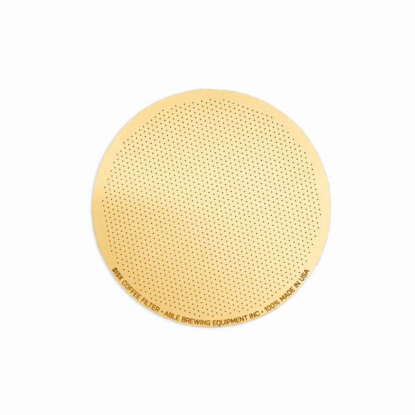 Able Disk Coffee Filter Gold, Coffee Filter, Able - Barista Warehouse