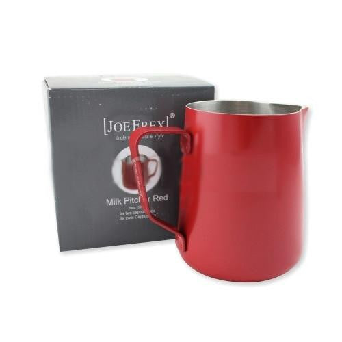Joe Frex Milk Pitcher Teflon 590ml Red