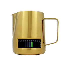Latte Pro Milk Jug - Gold, variable, Barista Warehouse - Barista Warehouse