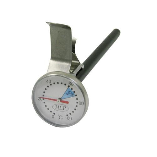 HLP Milk Jug Thermometer, Short, Thermometers, HLP - Barista Warehouse