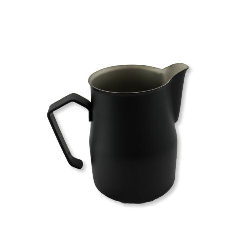 Motta Europa Jug Black, Milk Jugs, Motta - Barista Warehouse