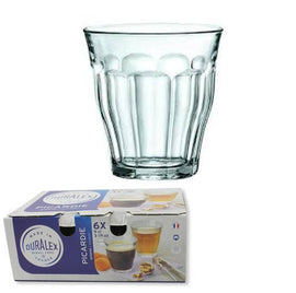 Picardie Duralex Glass 6 Pack, Cups & Glassware, Duralex - Barista Warehouse