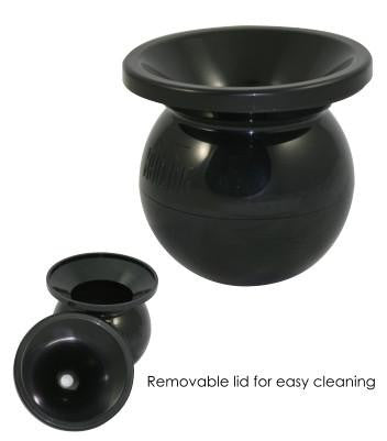 Rattleware Cupping Spittoon, Black Plastic, Cupping Equipment, Rattleware - Barista Warehouse