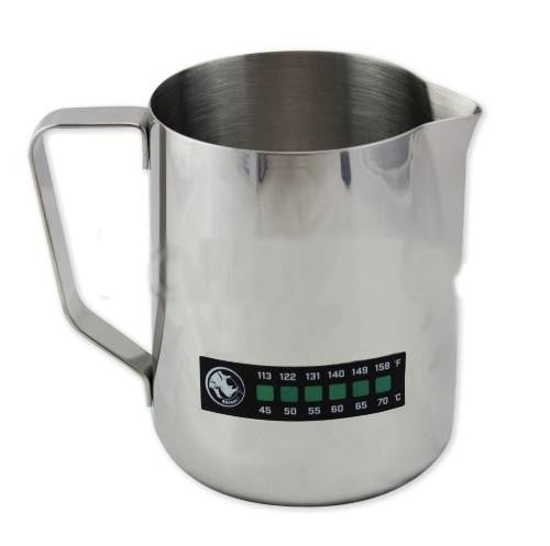 Rhino Classic Pitcher and Accutemp Set, Milk Jugs, Rhino - Barista Warehouse