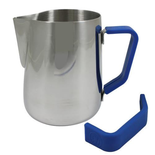 Rhino Milk Pitcher Blue Grip 32oz