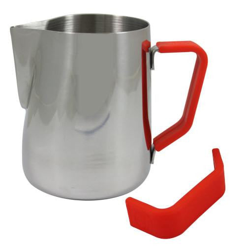 Rhino Milk Pitcher Red Grip 12oz