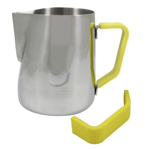 Rhino Milk Pitcher Yellow Grip 32oz