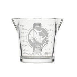 Rhino Shot Glass - Double Spout, Shot Glass, Rhino - Barista Warehouse