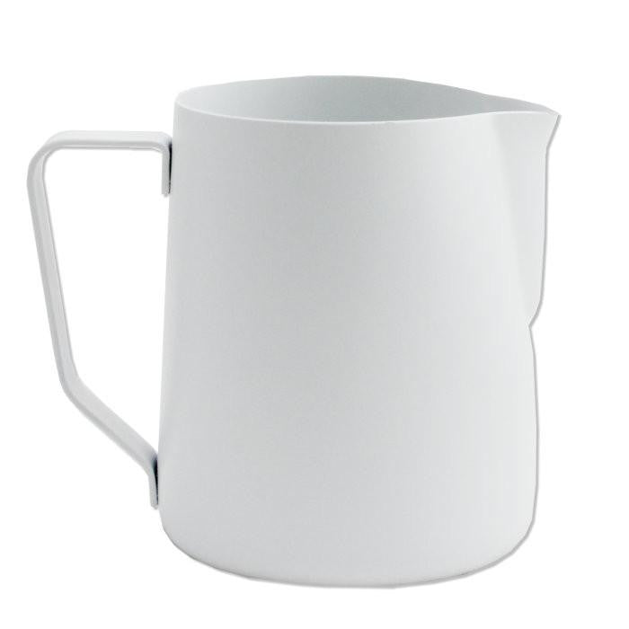 Rhino Stealth Milk Pitcher White, Milk Jugs, Barista Warehouse - Barista Warehouse