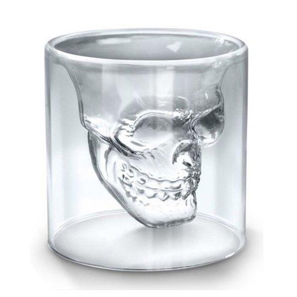 Skull Double Wall Glass Cup, variable, Barista Warehouse - Barista Warehouse