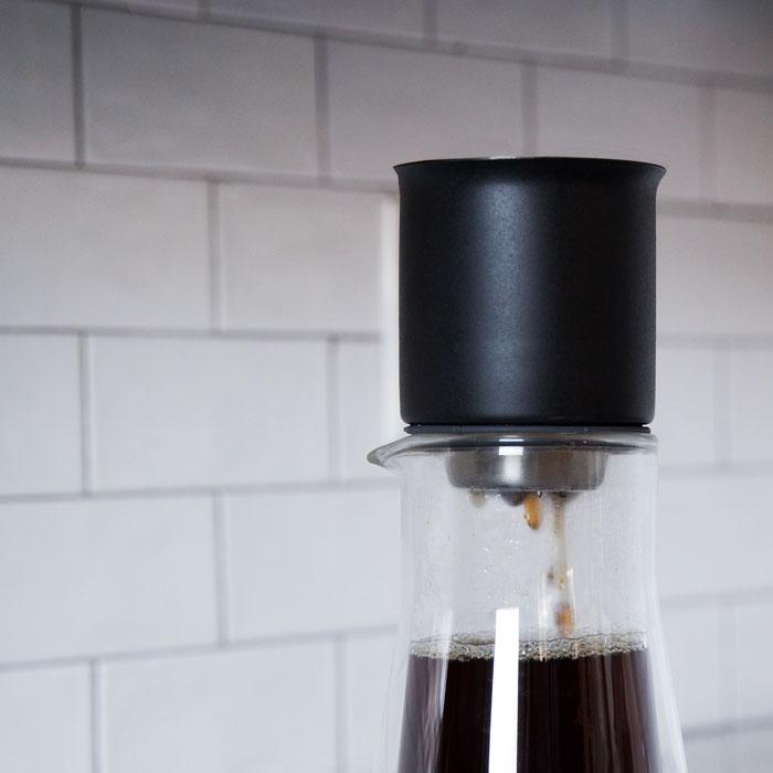 Stagg Glass Carafe with Lid, simple, Stagg - Barista Warehouse