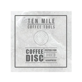 Ten Mile Stainless Steel AeroPress Filter, simple, Barista Warehouse - Barista Warehouse