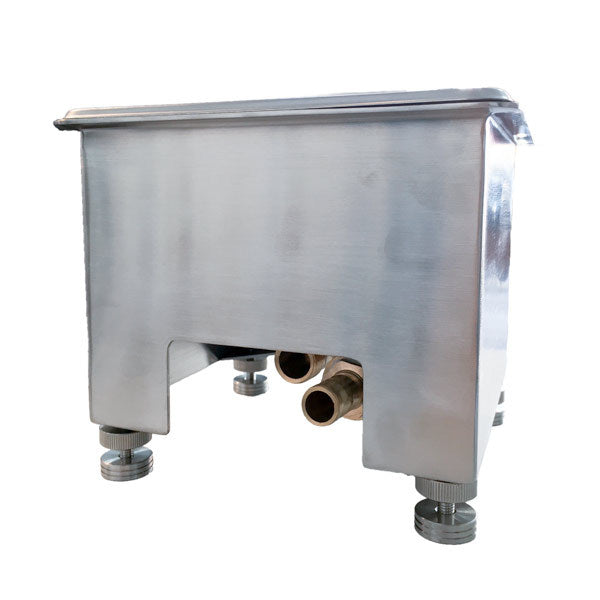 Tiamo Milk Jug Rinser - Stainless Steel Bench Fitting