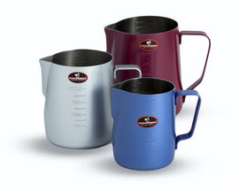 Ti Amo Coloured Milk Jug 360ml, Milk Jugs, Ti Amo - Barista Warehouse