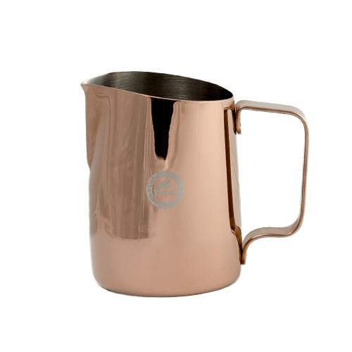 Tiamo Tapered Milk Jug 450ml - Metallic Bronze