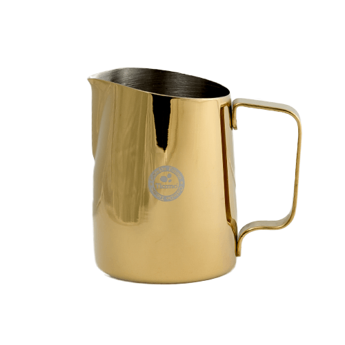 Tiamo Tapered Milk Jug 450ml - Metallic Gold