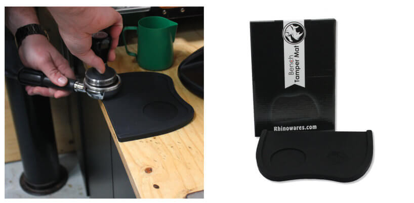 Rhino Bench Tamper Mat, simple, Rhino - Barista Warehouse