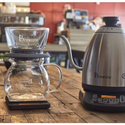 Brewista Double Wall Glass Smart Dripper, simple, Brewista - Barista Warehouse