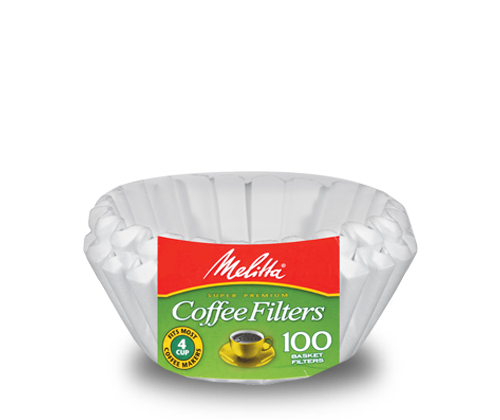 Melitta Brewista basket filter - 200pk 4-6 Cup, simple, Melitta - Barista Warehouse