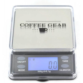 Coffee Gear Dosing Scale - 500g, simple, Coffee Gear - Barista Warehouse