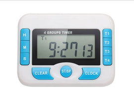 Digital Timer 4 Group, simple, Barista Warehouse - Barista Warehouse