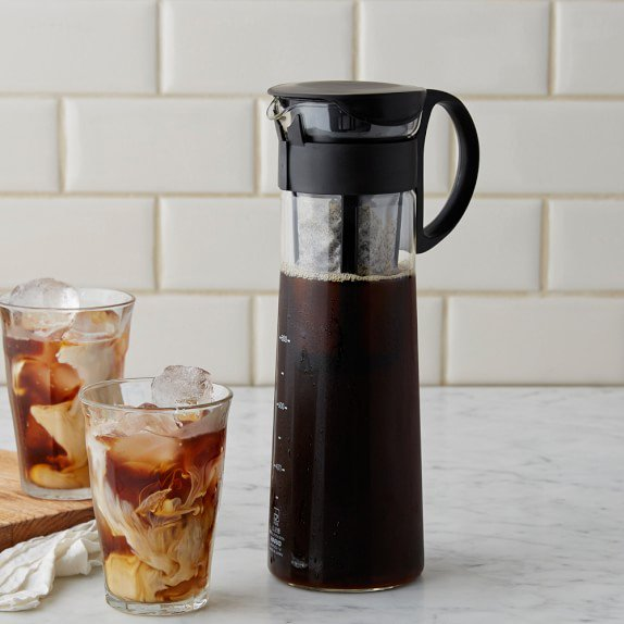 Hario Cold Brew Pot 1L - Black, simple, Barista Warehouse - Barista Warehouse