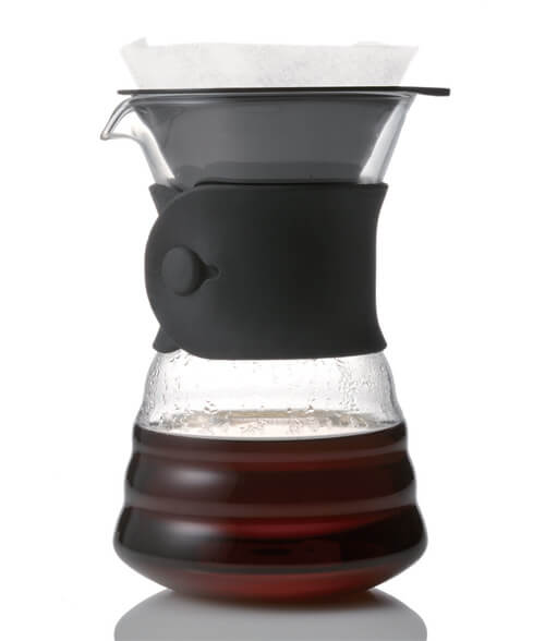 Hario V60 2 Cup Drip Decanter, simple, Hario - Barista Warehouse