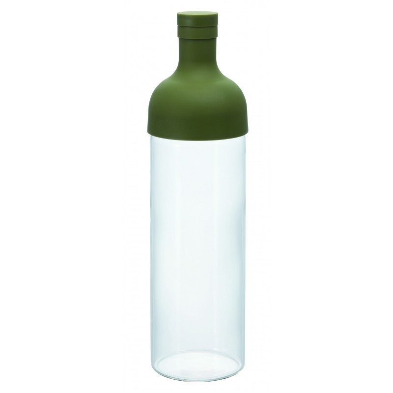 Hario Cold Brew Tea 'Filter in Bottle' Green 750ML, Tea Gear, Hario - Barista Warehouse
