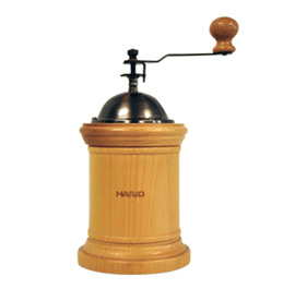 Hario Coffee Grinder Column - Wood, simple, Hario - Barista Warehouse