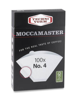 Moccamaster Filter size #4 for Classic and Thermal Filter Papers, simple, Moccamaster - Barista Warehouse