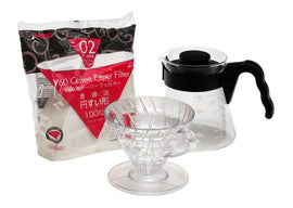 Hario V60 Pour Over Starter Kit, simple, Hario - Barista Warehouse