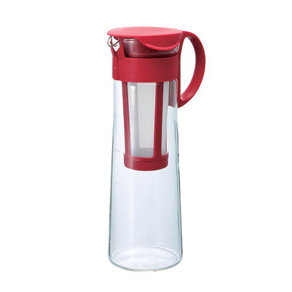 Hario Cold Brew Pot 1L - Red, simple, Barista Warehouse - Barista Warehouse