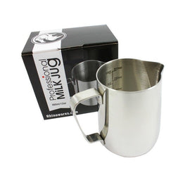 Rhino Professional Milk Jug 12oz - 360ml, simple, Rhino - Barista Warehouse
