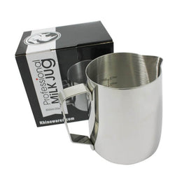 Rhino Professional Milk Jug 600ml (20oz), simple, Rhino - Barista Warehouse