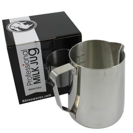 Rhino Professional Milk Jug 950ml/32oz, simple, Rhino - Barista Warehouse