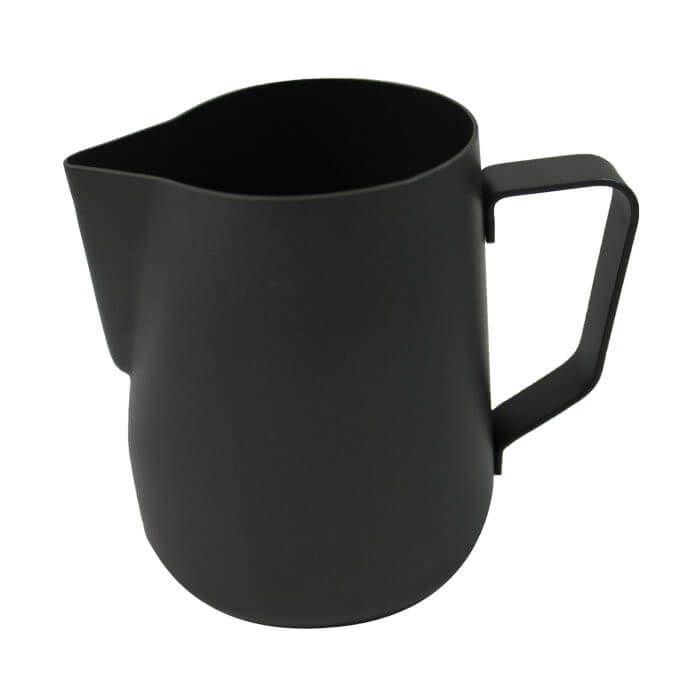 Rhino Black Stealth Milk Pitcher - 12oz/360ml