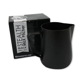 Rhino Black Stealth Milk Pitcher - 20oz/600ml