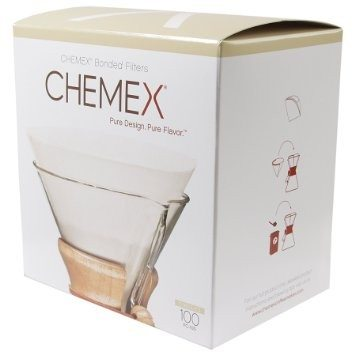 Chemex 6 Cup Pre-Folded Circle Filters, 100pk, simple, Chemex - Barista Warehouse