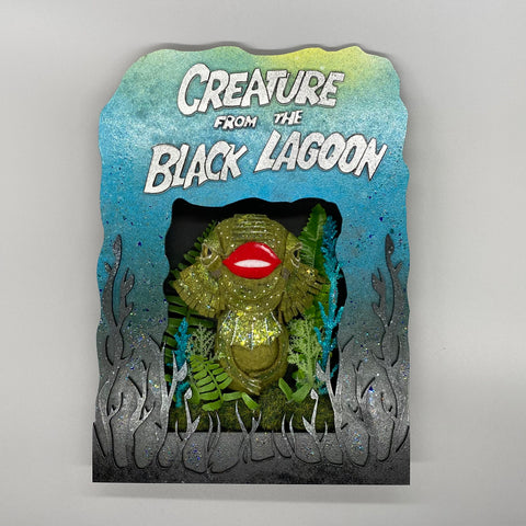 Creature From The Black Lagoon Shadowbox