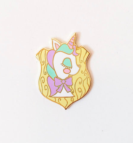 Unicorn Taxidermy Pin